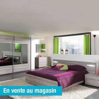 Chambre adulte Evito de style moderne