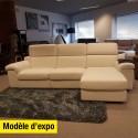 Salon d'angle Mamba - modèle d'expo