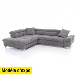 Salon d'angle Gemy - modèle expo