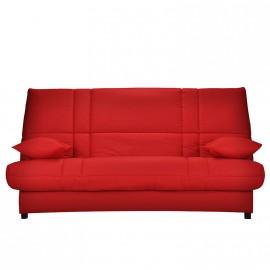 Clic-clac Bizzy en tissu rouge